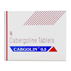 Lowest price on Cabergoline (Cabaser). The Cabgolin 0.25 buy USA cycle