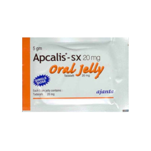 Lowest price on Tadalafil. The Apcalis SX Oral Jelly buy USA cycle