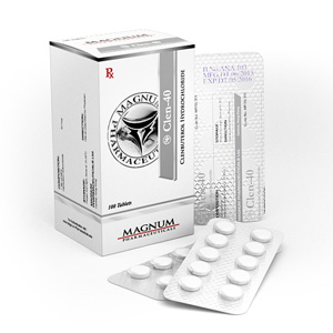 Lowest price on Clenbuterol hydrochloride (Clen). The Magnum Clen-40 buy USA cycle