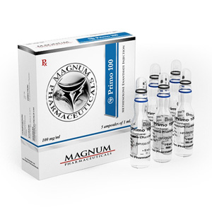Lowest price on Methenolone enanthate (Primobolan depot). The Magnum Primo 100 buy USA cycle