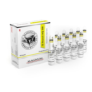 Lowest price on Stanozolol injection (Winstrol depot). The Magnum Stanol-AQ 100 buy USA cycle