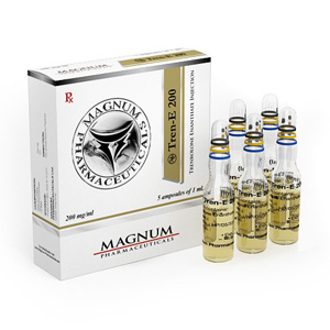 Lowest price on Trenbolone enanthate. The Magnum Tren-E 200 buy USA cycle