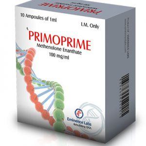 Lowest price on Methenolone acetate (Primobolan). The Primoprime buy USA cycle