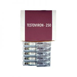 Lowest price on Testosterone enanthate. The Testoviron-250 buy USA cycle
