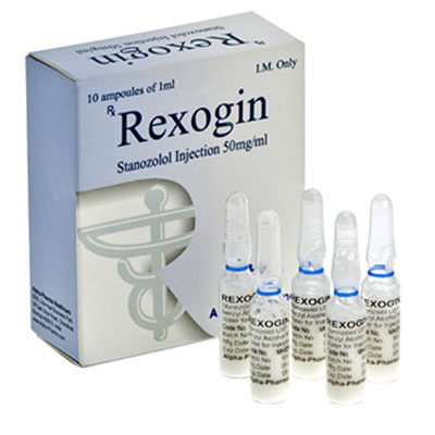 Lowest price on Stanozolol injection (Winstrol depot). The Rexogin buy USA cycle