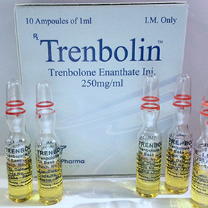 Lowest price on Trenbolone enanthate. The Trenbolin (ampoules) buy USA cycle