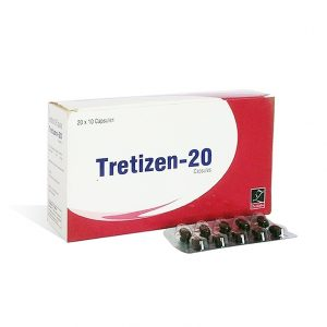 Lowest price on Isotretinoin  (Accutane). The Tretizen 20 buy USA cycle