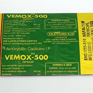 Lowest price on Amoxicillin. The Vemox 500 buy USA cycle