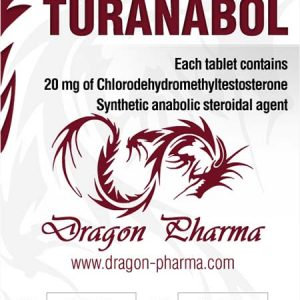 Lowest price on Turinabol (4-Chlorodehydromethyltestosterone). The Turanabol buy USA cycle